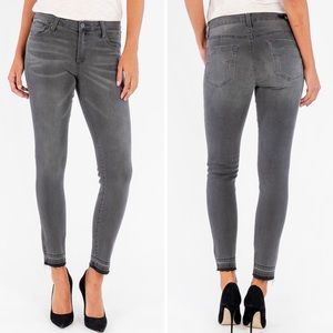 NWT KUT from the Kloth Grey Ankle Skinny Jeans